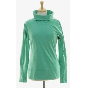 NWT Victorias Secret VSX Funnel Neck Sweatshirt S
